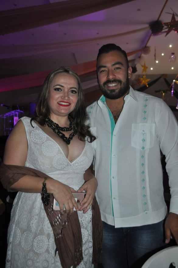 Irma Ayuso y Alberto Sánchez.