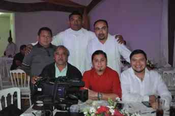 .- Mario Liu, Christian Negrín, Luis Bueno, Felipe Esparza, Ricardo Cetina Y Raúl Gorocica.