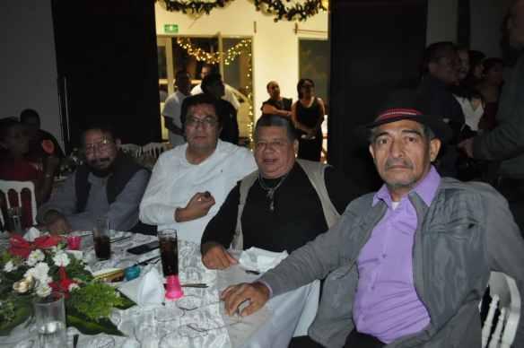 Jorge Cruz, Ricardo Rosado y Xicoténcatl López.