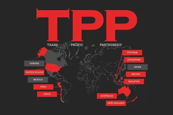 Trans-Pacific Partnership (TPP) el tratado que criminaliza la internet