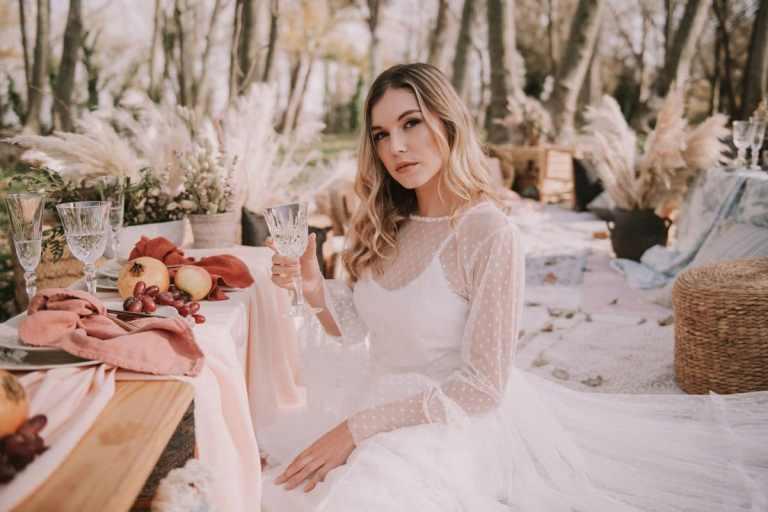 Fotografos de editoriales de bodas en Girona