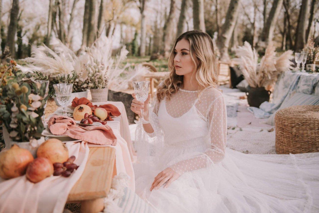 decoracion para bodas con fruta
