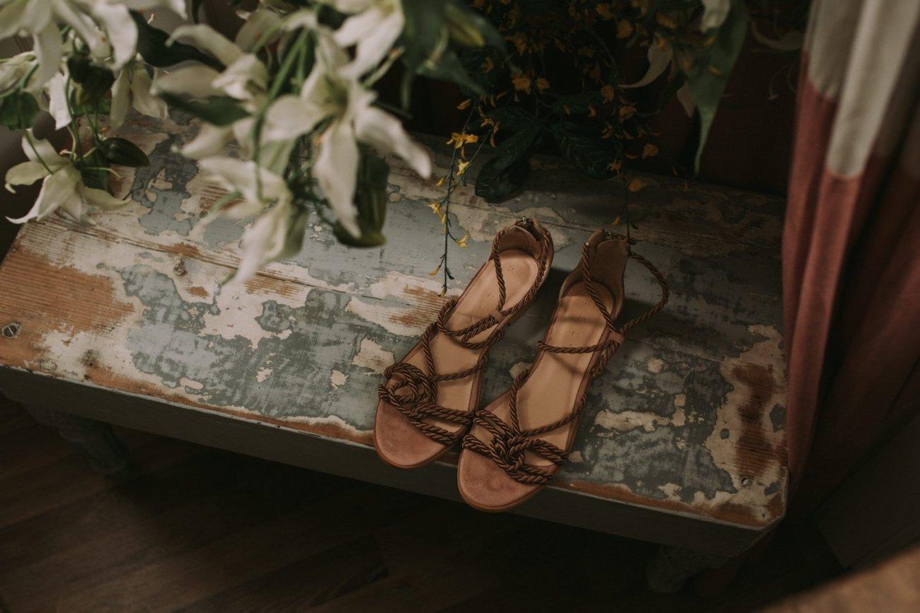 zapatos de novias naturales