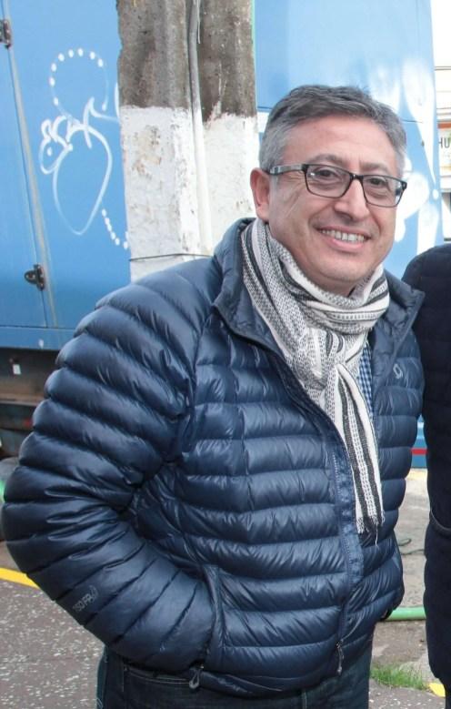 El alcalde de Pichidegua, Adolfo Cerón