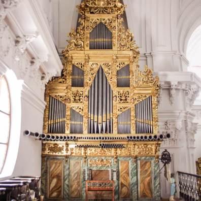 Órgano de Rueda