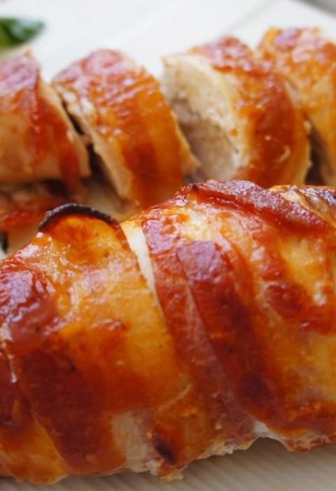 Filete de Pollo Relleno de Queso de Cabra