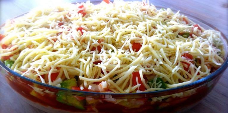 Salsa de Frijoles y Tomate Estilo Mexicano