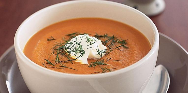 Sopa de Zanahoria con Eneldo