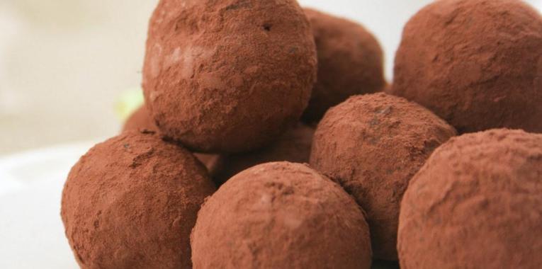 Trufas de Chocolate y Canela