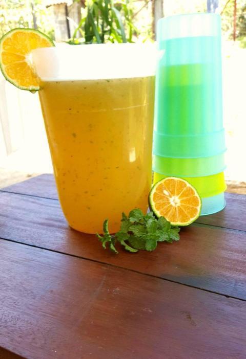 Refrescante Limonada con Menta