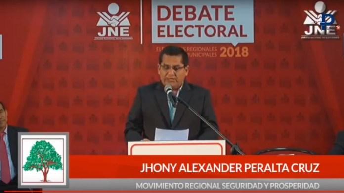 Jhony Peralta Cruz tiene un buen manejo de datos