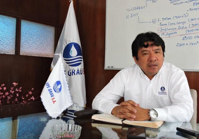 Roberto Sandoval Maza, responsable de EPS Grau en Talara