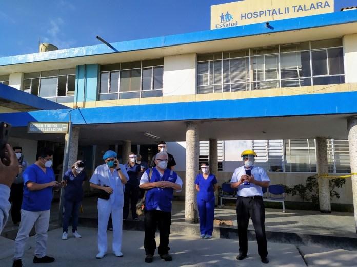 Más de mil pacientes superaron el Covid-19 en Hospital de EsSalud de Talara