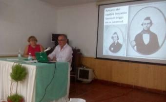 Conferencia sobre el Misterio del Mary Celeste impartida por J. A. Ortega en Palmones