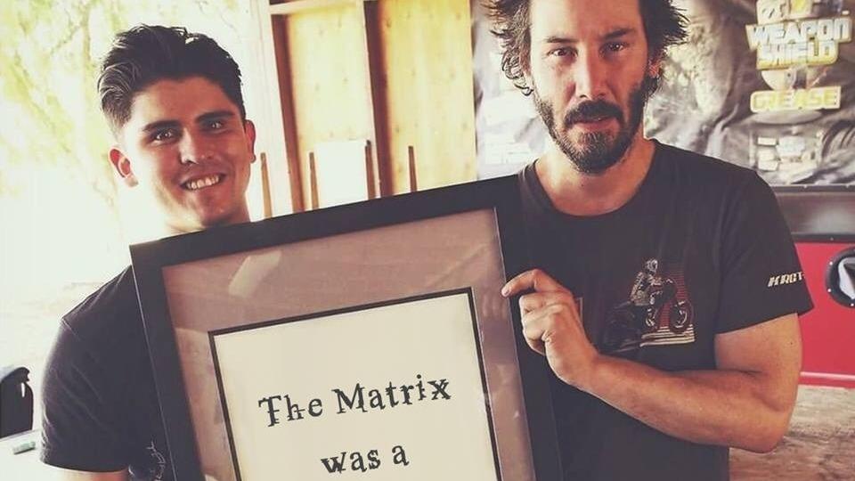 Matrix era un documental