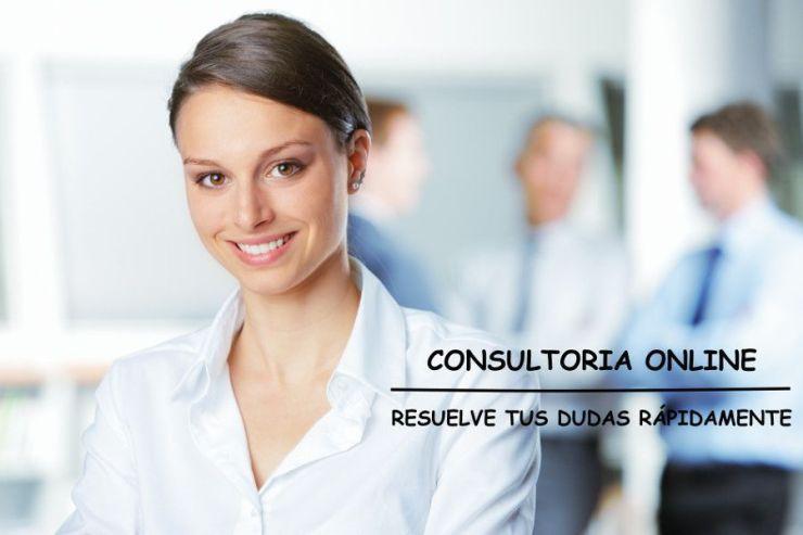 landing page consultoria bancaria con texto