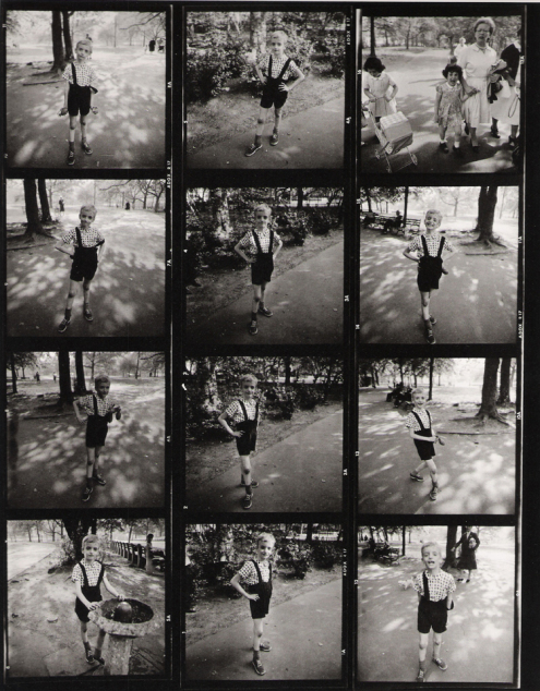 Plancha negativos by Diane Arbus