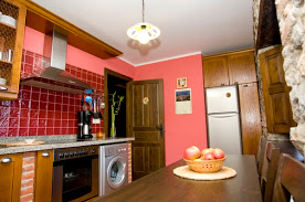 Cocina de la casa rural