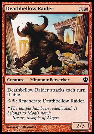 INCURSOR RUGIDOMORTAL / DEATHBELLOW RAIDER (THEROS)