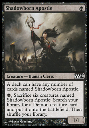 APOSTOL SOMBRIO / SHADOWBORN APOSTLE (M14)