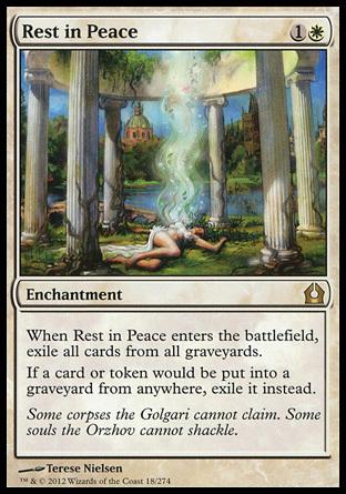 DESCANSE EN PAZ / REST IN PEACE (REGRESO RAVNICA)