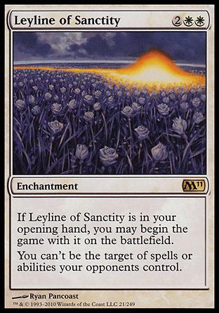 LINEA MISTICA DE LA SANTIDAD / LEYLINE OF SANCTITY (M11)