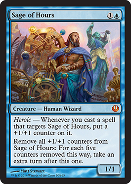 SABIO DE LAS HORAS / SAGE OF HOURS (TRAVESIA NYX)
