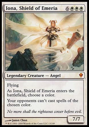 IONA, ESCUDO DE EMERIA / IONA, SHIELD OF EMERIA (ZENDIKAR)