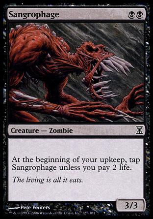 SANGROFAGO / SANGROPHAGE (ESPIRAL TIEMPO)