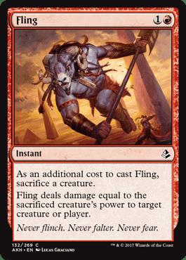 ARROJAR / FLING (AMONKHET)