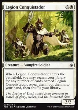 CONQUISTADOR DE LA LEGION / LEGION CONQUISTADOR (IXALAN)