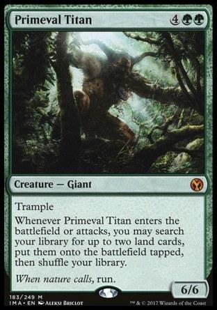 TITAN PRIMIGENIO / PRIMEVAL TITAN (ICONIC MASTERS)