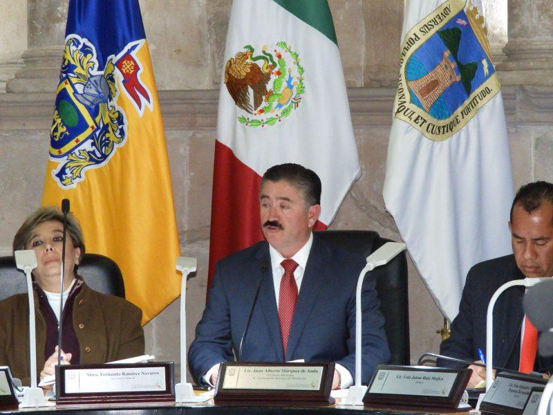 Juan Alberto Márquez dejó la alcaldía para buscar ser diputado local