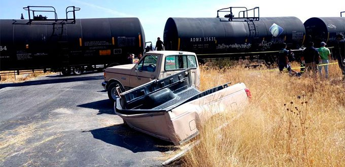 El tren no perdona: mueren 5 en el libramiento sur