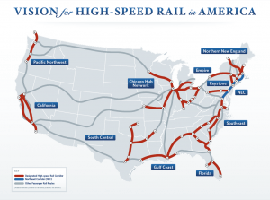 Obama high speed rail corridor