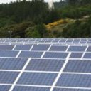 Solar plant in France