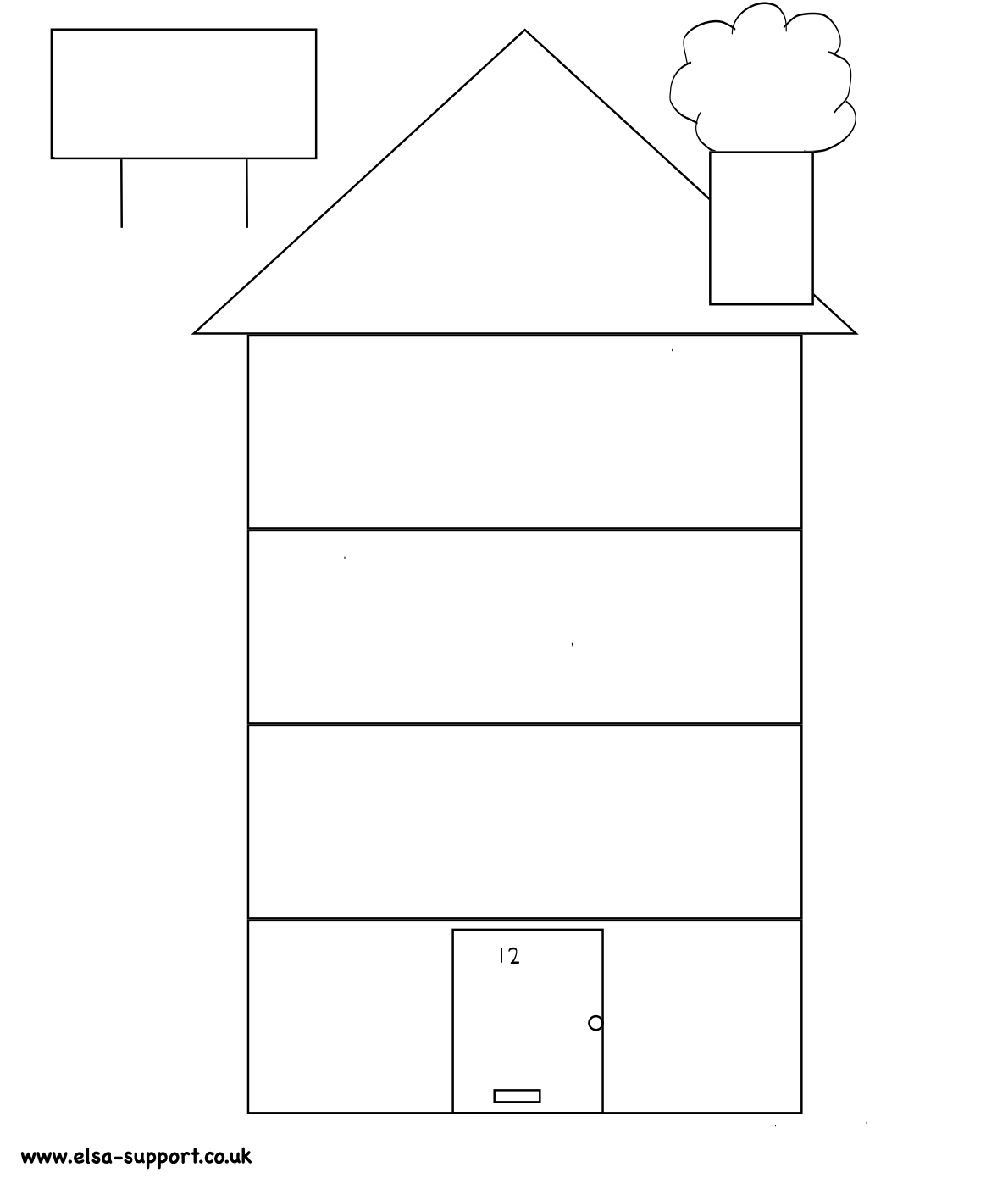 House Template Worksheet