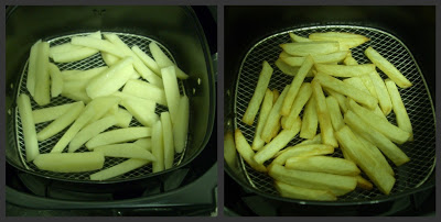 patatas airfryer collage