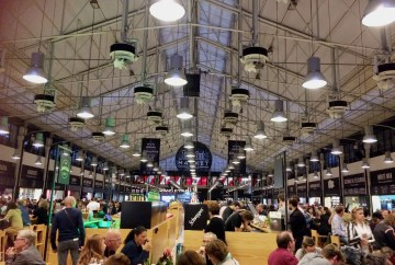Inside the Time Out food hall