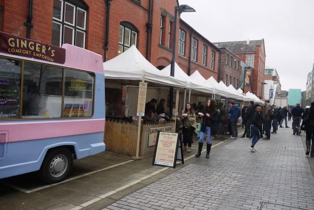 UoM Food Market on Bridgeford Street
