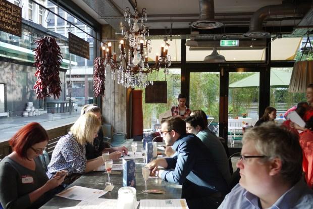 Bill's Restaurant interior - Manchester
