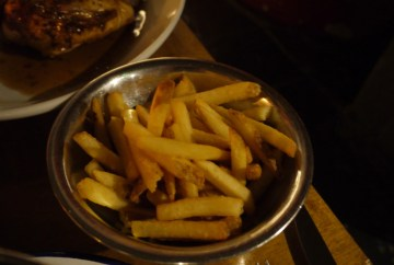 Cooked frites