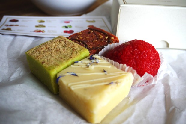 Selection of treats from Barfia