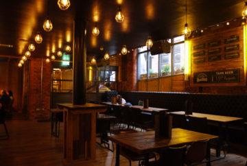 Smokehouse & Cellar tables