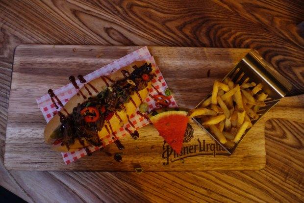 Smokehouse & Cellar brisket roll