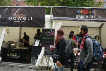 Manchester Food and Drink Festival 2016 stalls