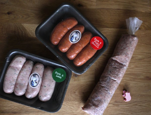 Grandad's Sausages selection