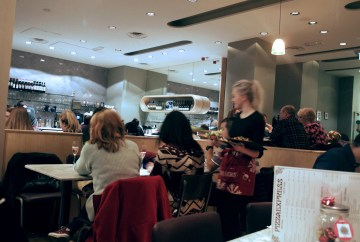 Pizza Express interior