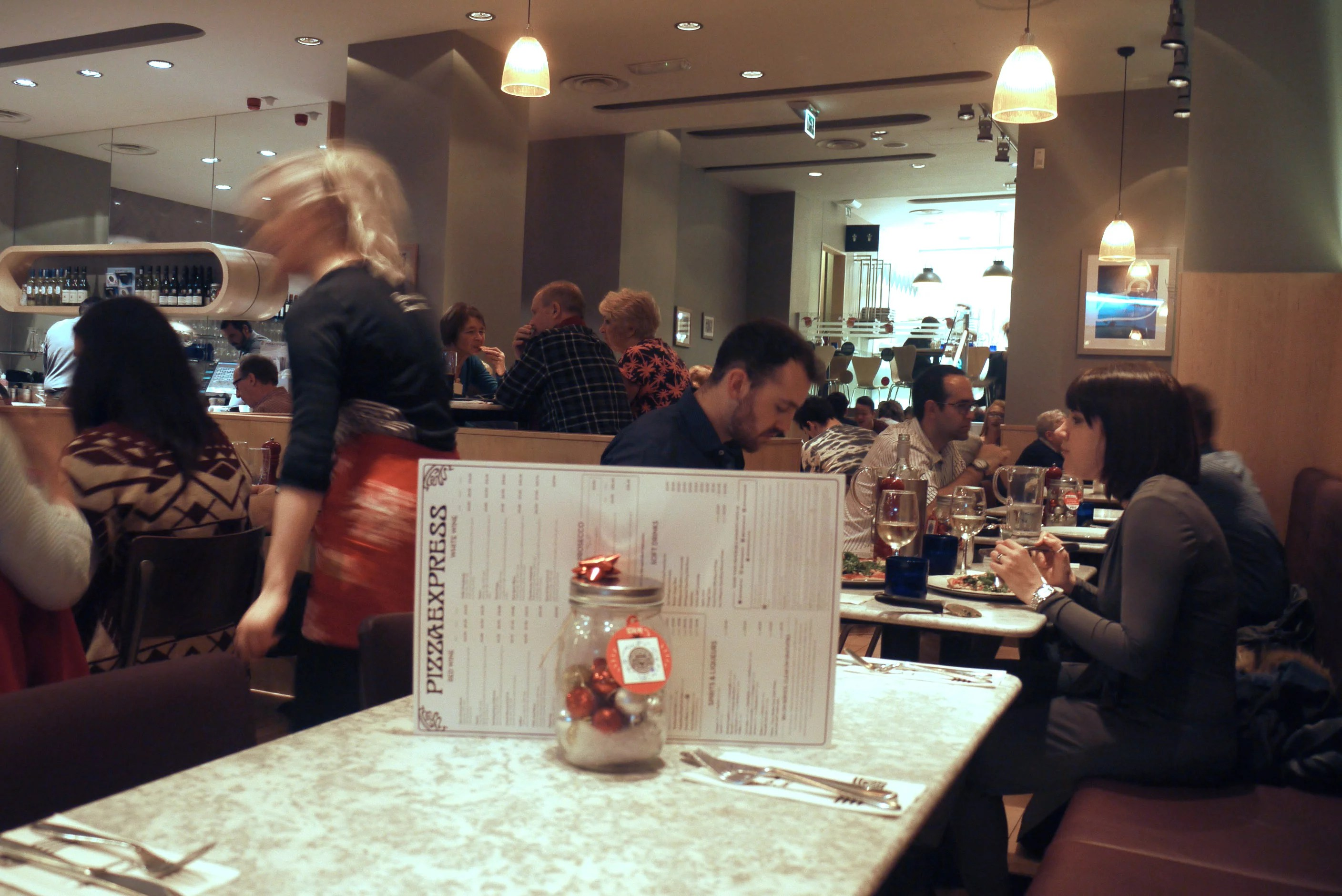 Review Of The Pizza Express On Oxford Street Manchester