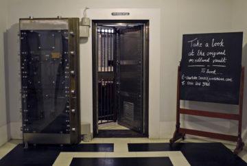 Jamie's Italian King St, vault entrance